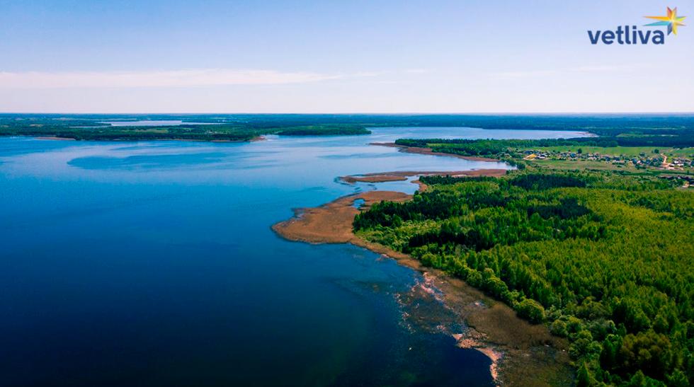 Озеро Нарочь в Беларуси