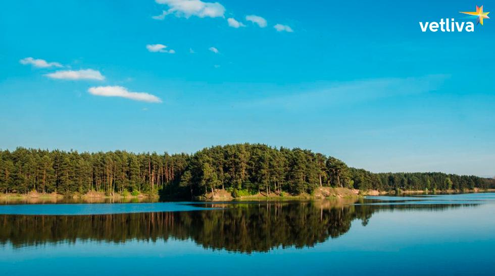 Прекрасные озёра в Белоруссии