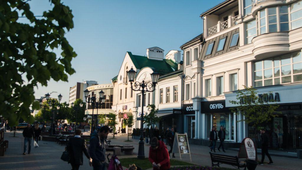 Пешеходная улица Бреста