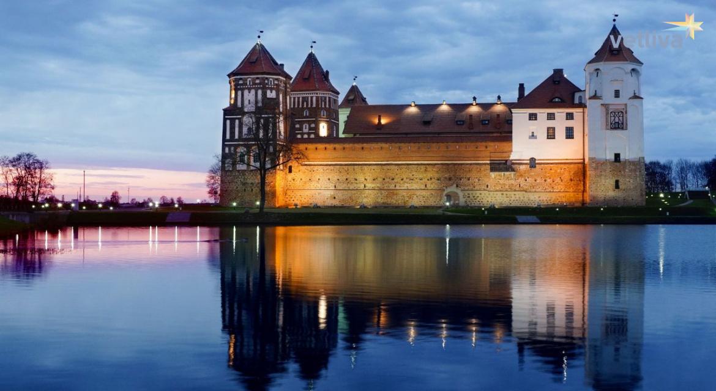 отличительная замок в белоруссии картинки прощается, жизнью